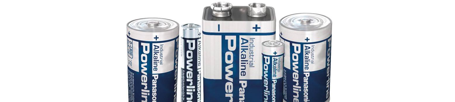 baterías alcalina